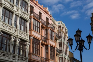 Modernismo, plaza Sagasta en Zamora