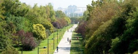 Panoramica Jardines del Turia