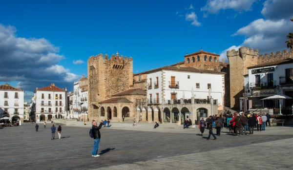 Plaza Mayor Caceres 2