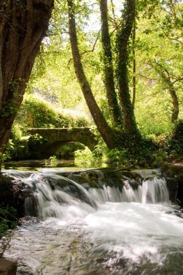 Río dos Gafos alrededores de Pontevedra