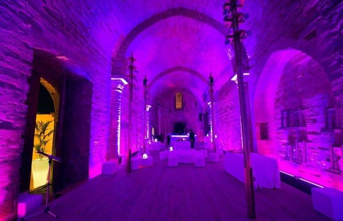 Sant Martí Interior llum lila