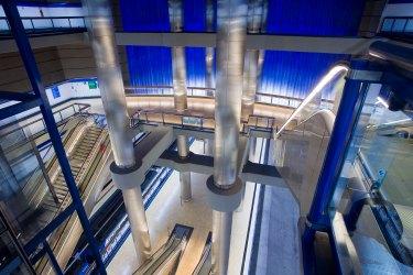 SCB Spain Convention Bureau. Madrid. Estación de metro de Chamartin