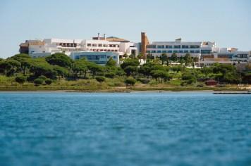 SCB Spain Convention Bureau. Huelva. Fuerte El Rompido. Vistas muelle.