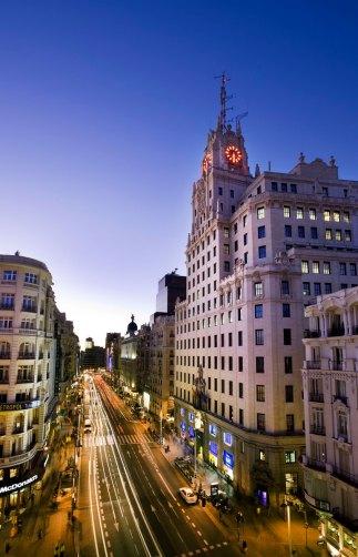SCB Spain Convention Bureau. Madrid. GRAN VÍA