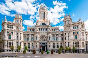 SCB Spain Convention Bureau. Madrid. Palacio de Cibeles