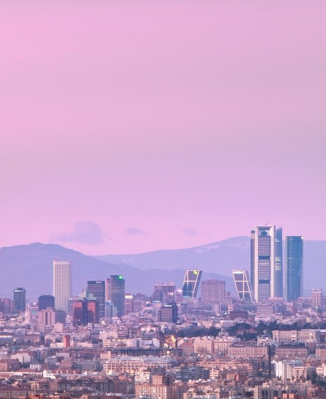 SCB Spain Convention Bureau. Madrid. Skyline