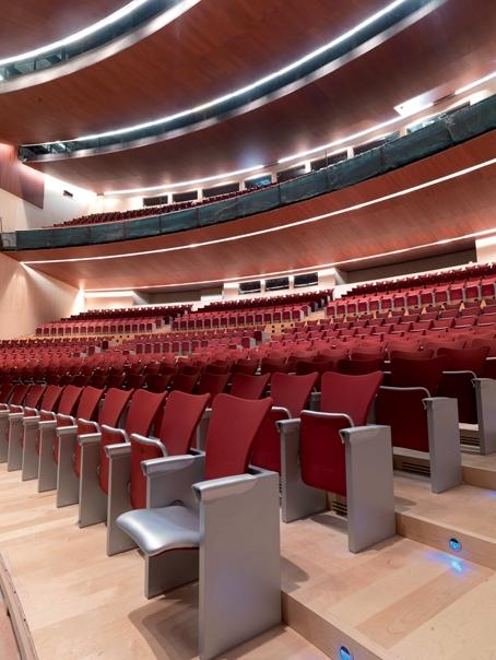 SCB Spain Convention Bureau. Burgos. Auditorio