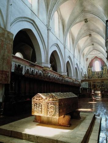 Monasterio Huelgas Interior