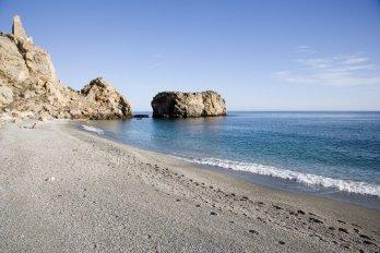COSTA TROPICAL. Castell de Ferro. Playa de La Rijana.