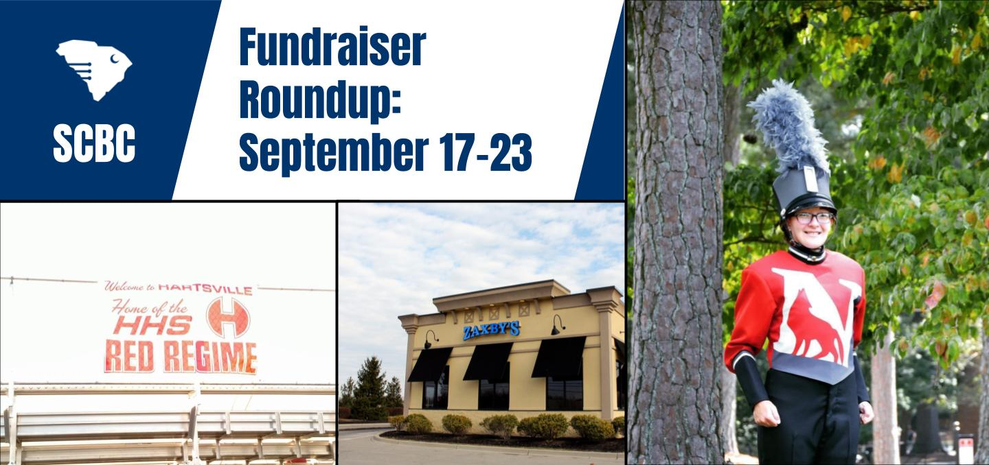 Fundraiser Roundup: September 17-23