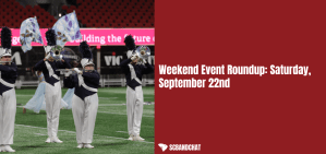 Weekend Event Roundup: Saturday, September 22nd