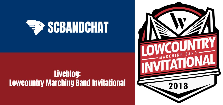Liveblog: Lowcountry Marching Band Invitational