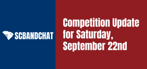 Competition Update for Saturday, September 22nd