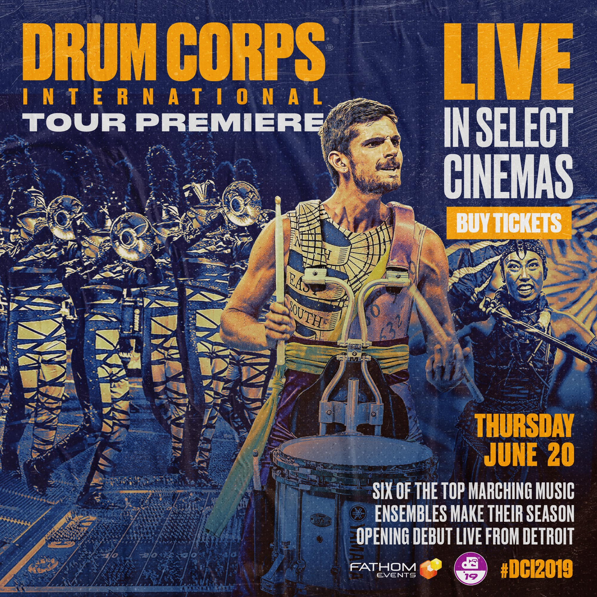 DCI Returns to Theaters on Thursday; See Full List of SC Theaters Here