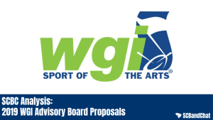 SCBC Analysis: WGI Advisory Board Proposals