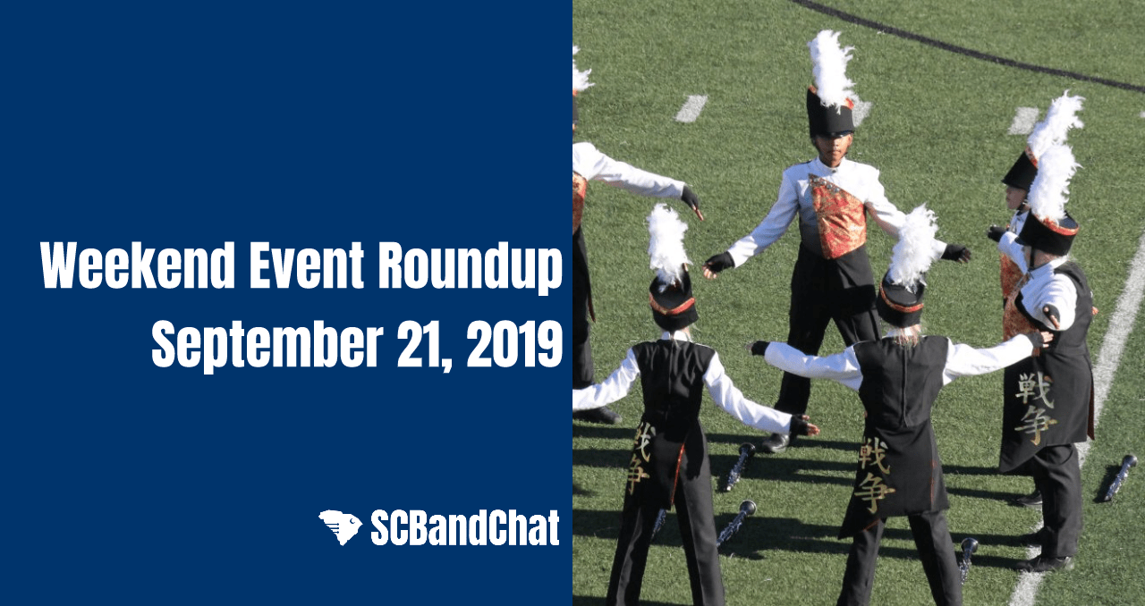 Weekend Event Roundup: September 21, 2019