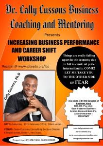 CareerShift Workshop February 13 Owerri 2016