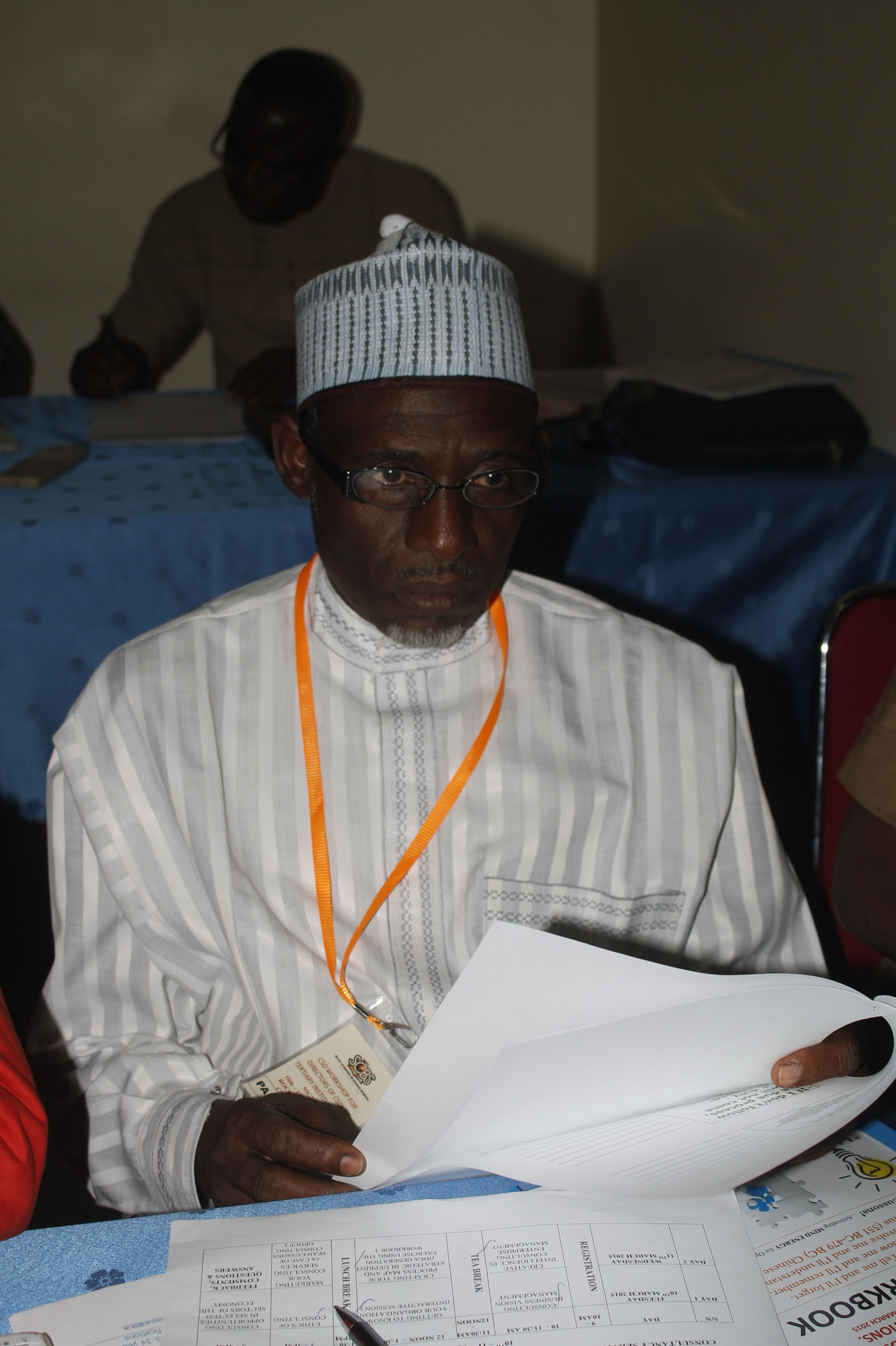 The workshop helped me in developing institutional policy and opened my entrepreneurial understanding to our opportunities, strengths and weaknesses as a CSD. The programme has been very interesting and educative.  – S.U.M Raha, Director of Consultancy, Waziri Umaru Federal Polytechnic Birnin Kebbi