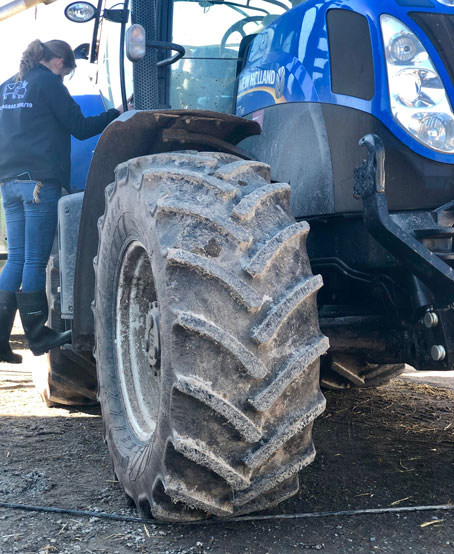 Agrarwirtschaft-Traktor