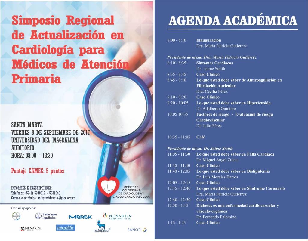 Simposio regional de actualización en cardiología para médicos de atención primaria