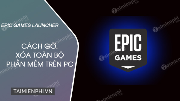 How to uninstall Epic Games Launcher - SCC