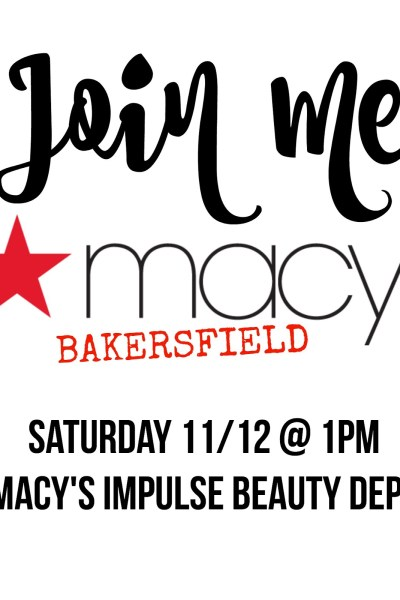 MACYS BAKERSFIELD IMPULSE EVENT 11/12
