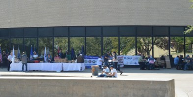 Patriot Day in amphitheater SM