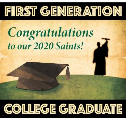 Congrats, 1st gen grads