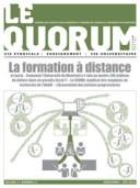 Quorum printemps 2014