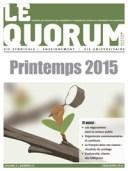 Quorum printemps 2015
