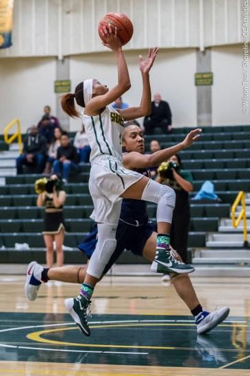 Shoreline CC Women's basketball team hosts Bellevue College