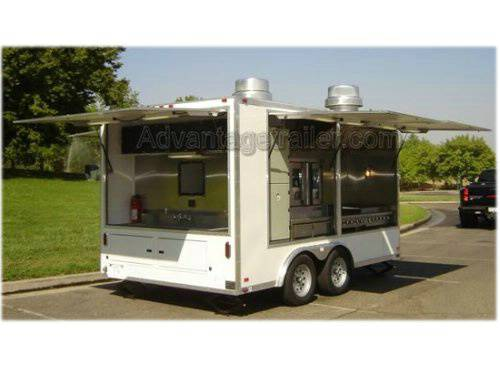 Atc Aluminum Mobile Kitchen Concession Trailer Advantage