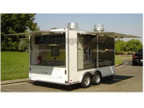 Atc Aluminum Mobile Kitchen Concession Trailer Advantage