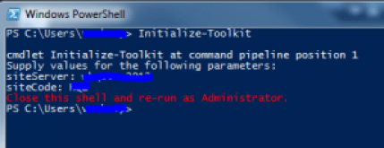 Console run without admin rights