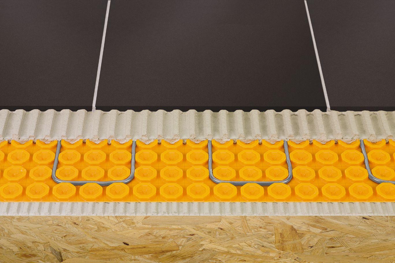 schluter ditra heat floor warming