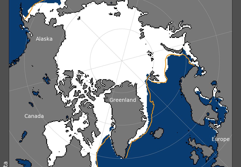 البيانات الرسمية تكشف أن الجليد البحري في القطب الشمالي ينمو مرة