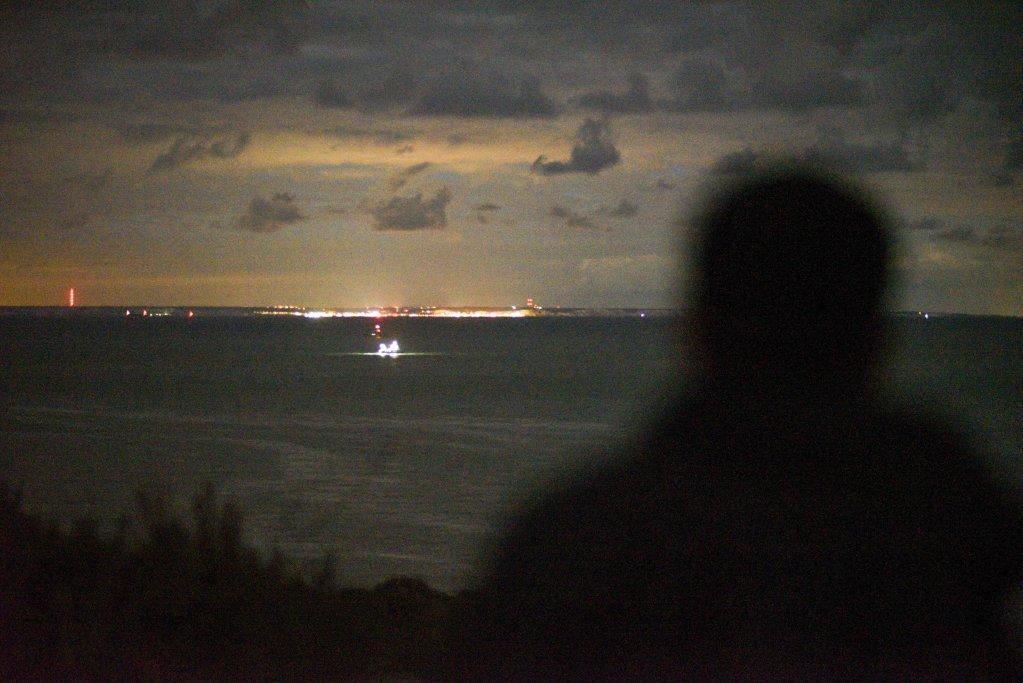 Il y a 32 km entre le cap Gris Nez et les côtes britanniques mais les migrants savent qu'ils n'ont que la moitié du chemin à parcourir pour arriver dans les eaux britanniques. Crédit : Mehdi Chebil pour InfoMigrants