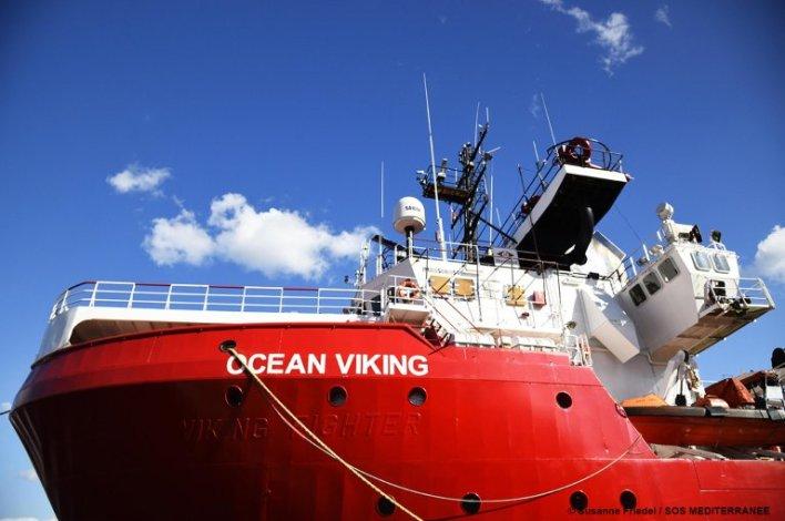 The Ocean Viking   Photo: SOS Mediterranee
