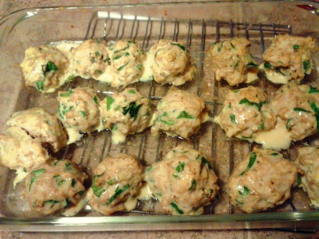 SCD Recipe: Spinach Parmesan Chicken Meatballs