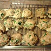 SCD Recipe: Spinach Parmesan Chicken Meatballs