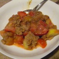 SCD Recipe: Strawberry Rhubarb Crisp