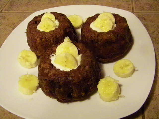 SCD Recipe: Banana Mini-Bundt Cakes