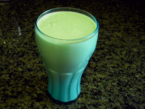 SCD Recipe: Shamrock Smoothie