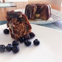 SCD Recipe: Blueberry Coconut Bundt Cake with Vanilla White Chocolate Glaze