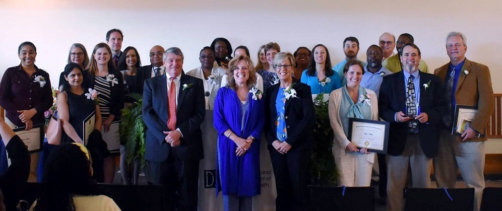 2018 Hassenplug Award Nominees, State Director John H. Magill, and DMH Commissioners: Alison Y. Evans, Psy.D. , Chair and Sharon Wilson, FACHE, CEAP