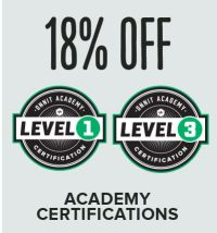 Save 18% on Certifications