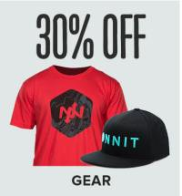Save 30% on Apparel