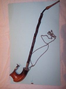 Cherry wood pipe from my own collection