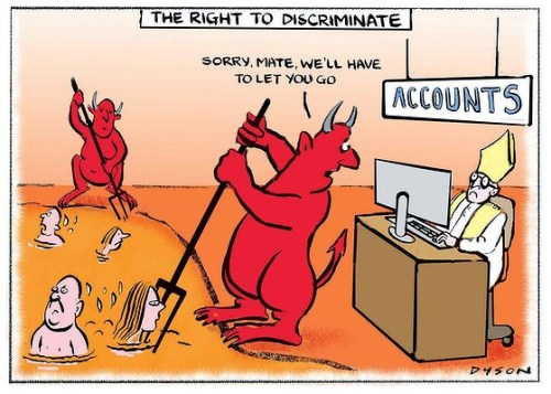 The Age September 30: Illustration by Dyson 'The right to discriminate'