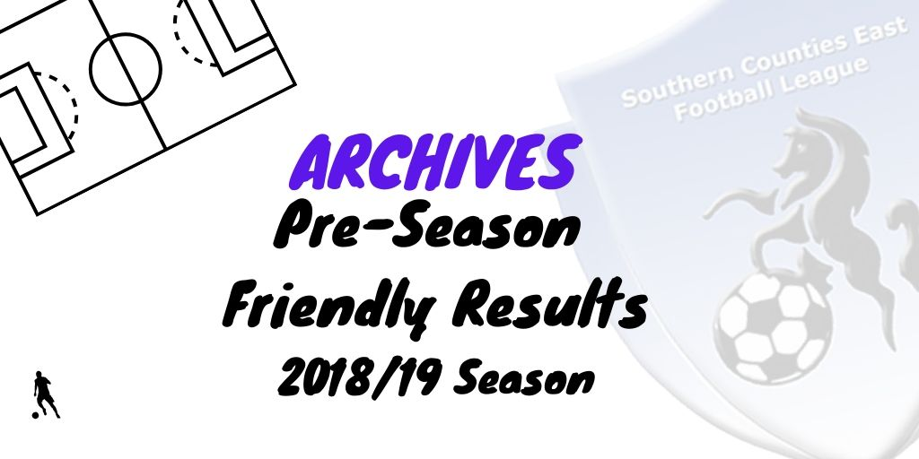 scefl pre-season friendly 2018
